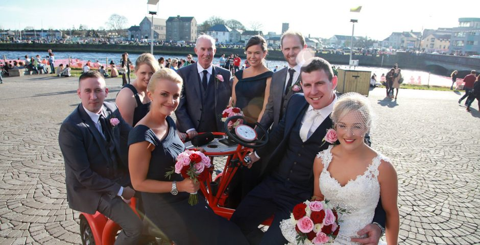Pedal power galway wedding bike pedal power galway our pedal powered bike is available for wedding and civil ceremony our bike is a noval way and the perfect transportation system to get you and all your junglespirit Gallery